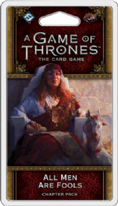 A Game of Thrones: The Card Game (Second Edition) - All Men Are Fools Chapter Pack